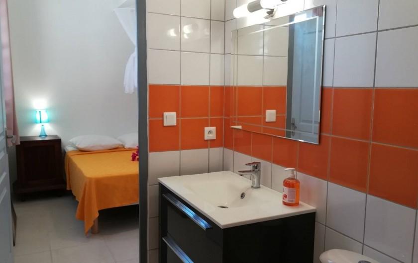 Location de vacances - Studio à Le Vauclin - Résidence Macabou - Suite parentale du T4 Ixora