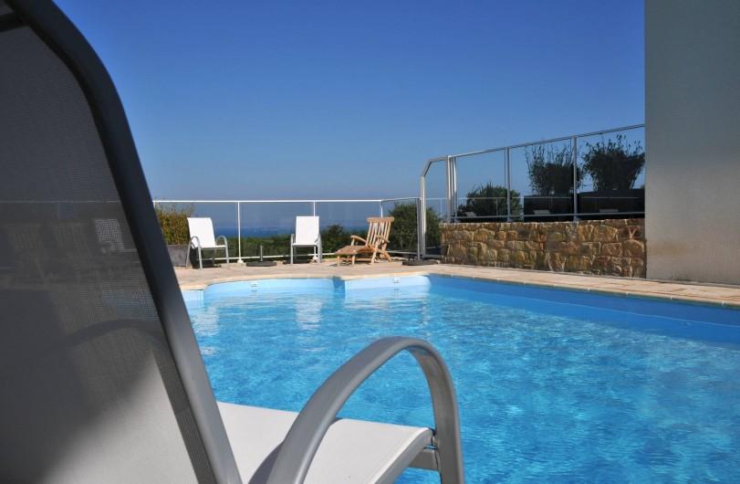 Location de vacances - Villa à Roscoff - Piscine chauffée