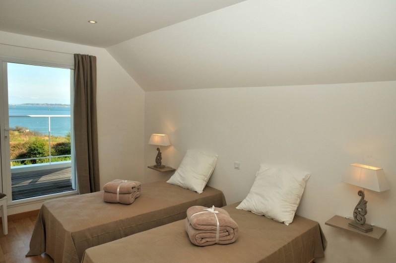 Location de vacances - Villa à Roscoff - chambre avec 2 lits simples