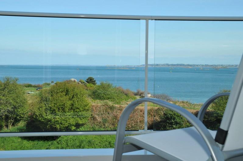 Location de vacances - Villa à Roscoff - balcon terrasse