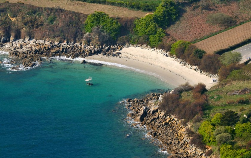 Location de vacances - Villa à Roscoff - Plage à 100m