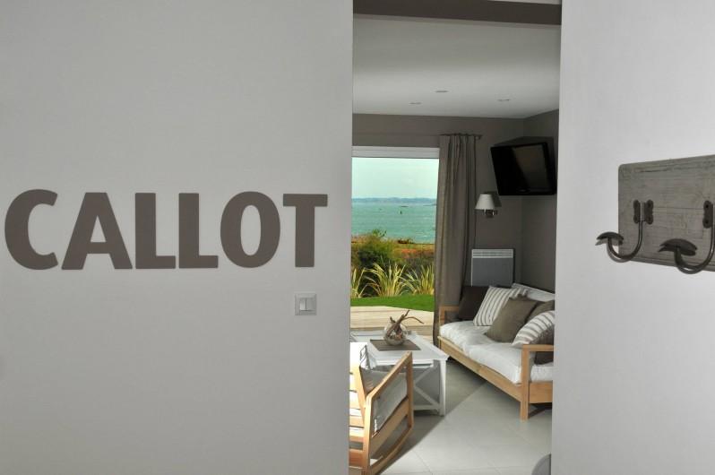 Location de vacances - Villa à Roscoff - couloir
