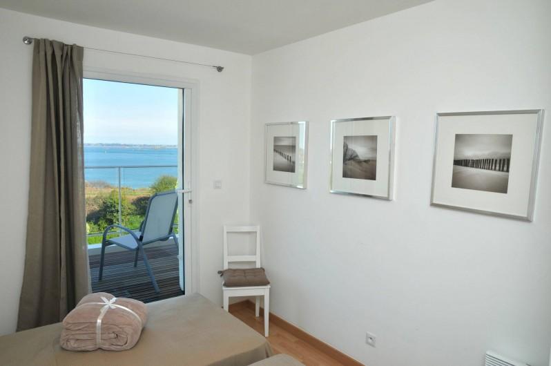 Location de vacances - Villa à Roscoff - Chambre avec 2 lit simple