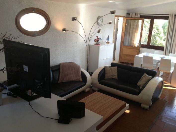 Location de vacances - Villa à L'Escala - Salon