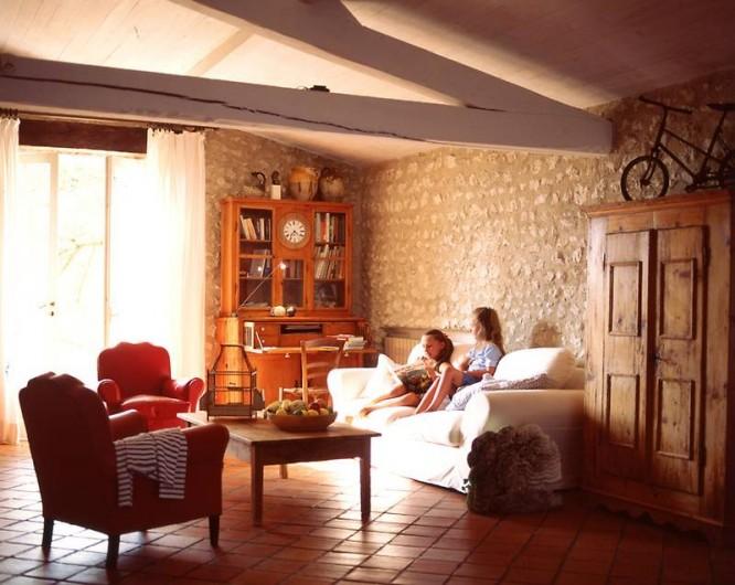 Location de vacances - Mas à Lusignac - salon