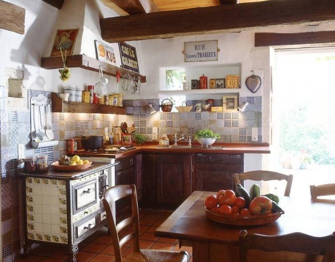 Location de vacances - Mas à Lusignac - cuisine