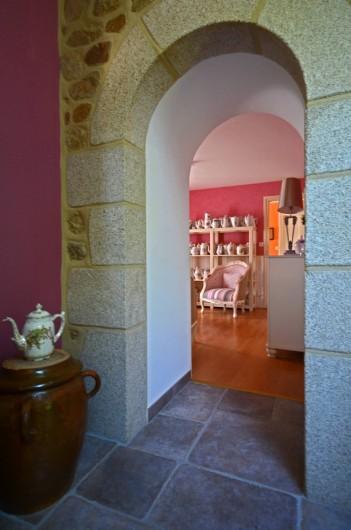 Location de vacances - Chambre d'hôtes à Melrand - Accès salon d'hôtes