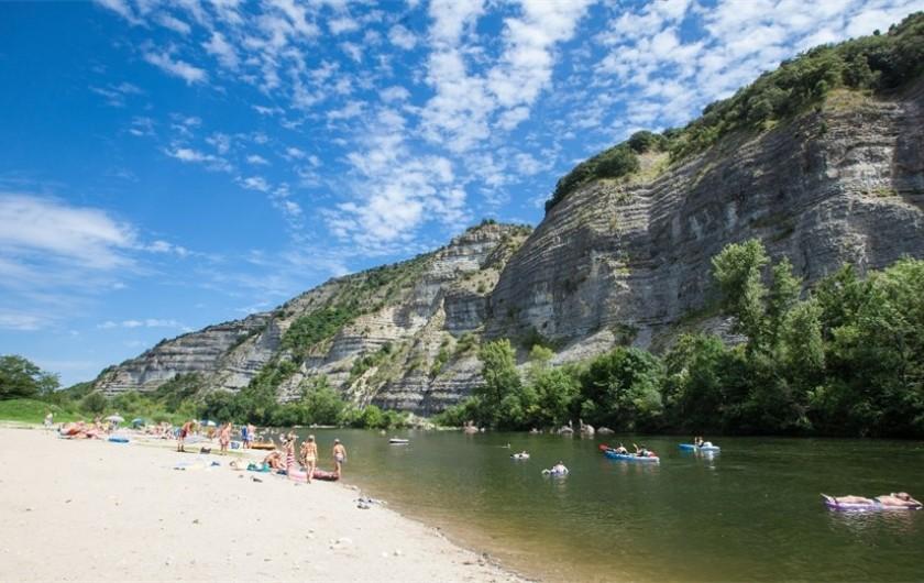Location de vacances - Maison - Villa à Salavas - plage de Labeaume