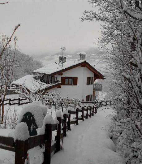 Location de vacances - Appartement à Brissogne - Inverno
