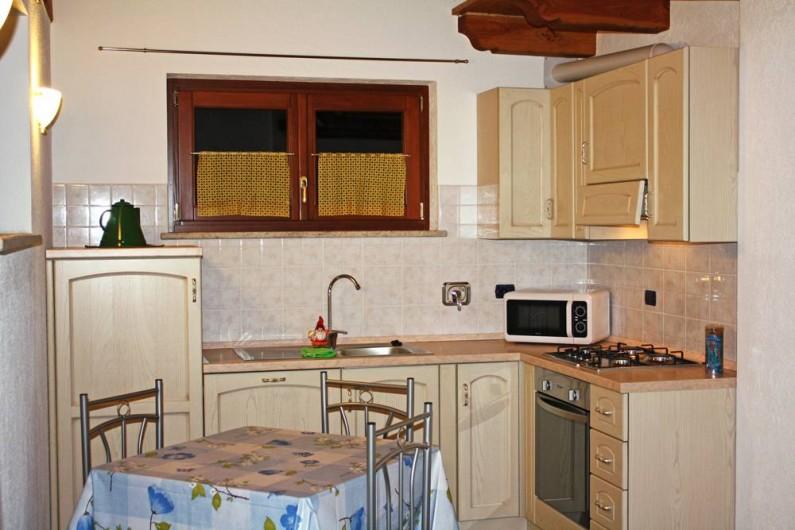 Location de vacances - Appartement à Brissogne - Angolo cottura Ovest
