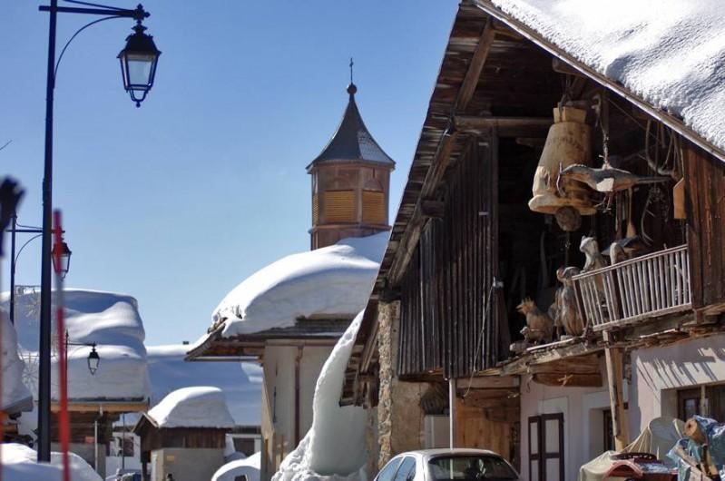 Location de vacances - Appartement à Crest-Voland - Le vieux village du Crest à 300 m. de l'appartement