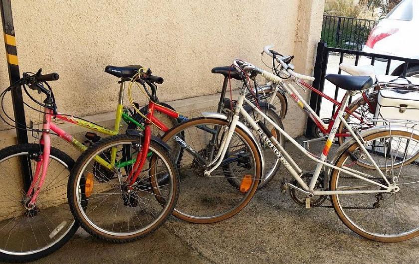Location de vacances - Villa à Empuriabrava - les vélos