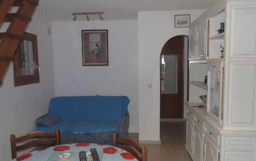Location de vacances - Villa à Empuriabrava - la salle de vie