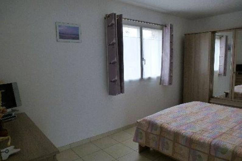 Location de vacances - Gîte à Saint-Pol-de-Léon - La chambre avec un lit de 160*200