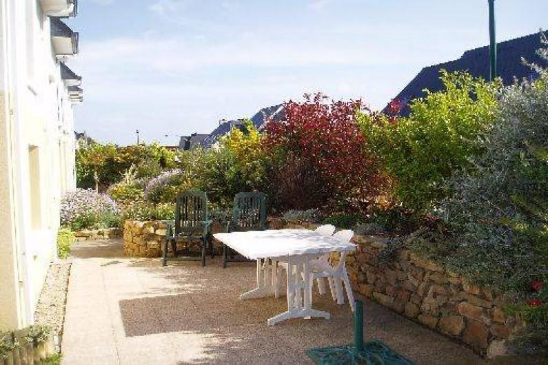 Location de vacances - Gîte à Saint-Pol-de-Léon - la terrasse
