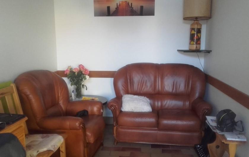 Location de vacances - Appartement à Vieux-Boucau-les-Bains - salon