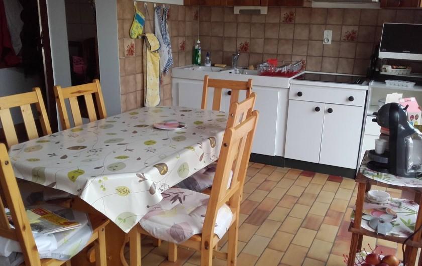 Location de vacances - Appartement à Vieux-Boucau-les-Bains - cuisine