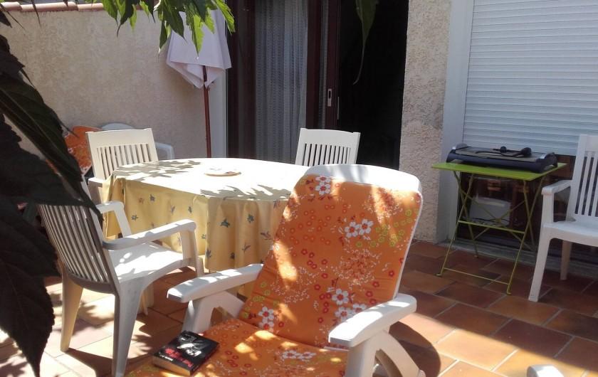 Location de vacances - Appartement à Vieux-Boucau-les-Bains - terrasse