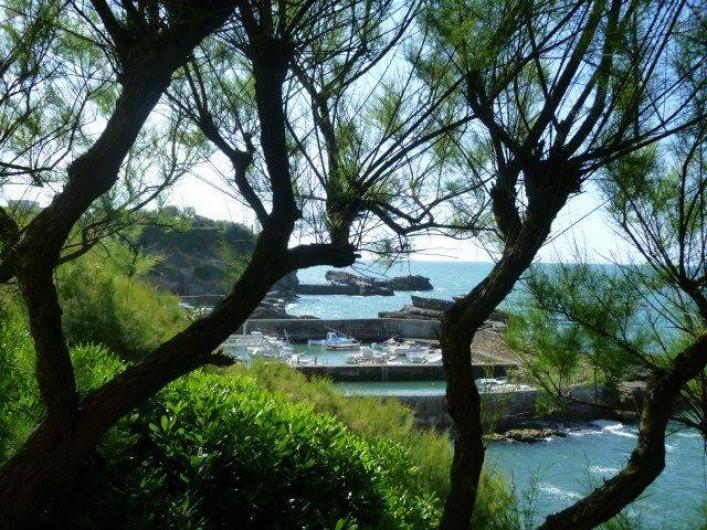 Location de vacances - Appartement à Biarritz - Une vue de Biarritz coté port