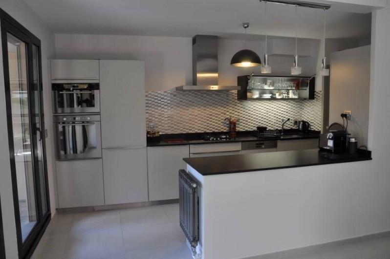 Location de vacances - Appartement à Biarritz - Cuisine US