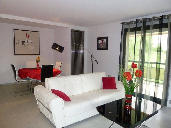 Location de vacances - Appartement à Biarritz - Pièce principale