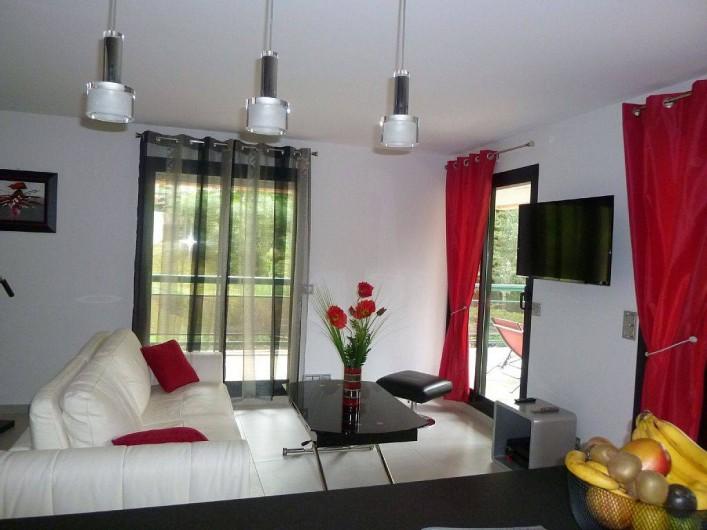 Location de vacances - Appartement à Biarritz - Salon