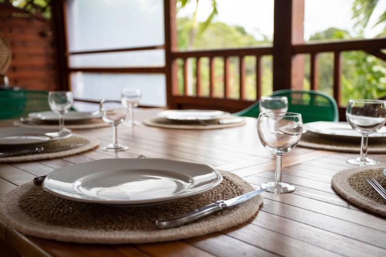 Location de vacances - Villa à Sainte-Anne - TERRASSE PIPIRIT VUE SUR LES ILES