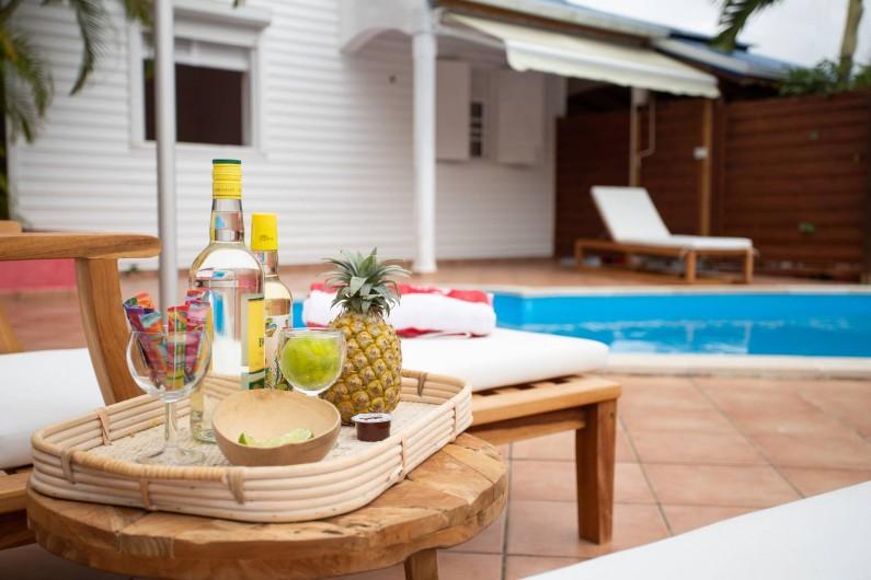 Location de vacances - Villa à Sainte-Anne - Chambre n° 3 de la villa PIPIRIT