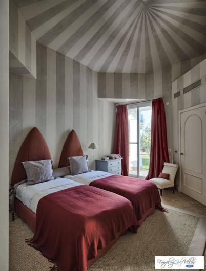 Location de vacances - Villa à Benalup-Casas Viejas - Chambre 2 avec possibilité d'avoir 3 lits