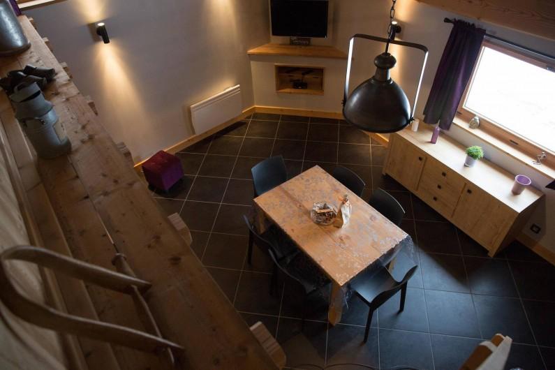 Location de vacances - Appartement à Champagny-en-Vanoise - Vue depuis mezzanine