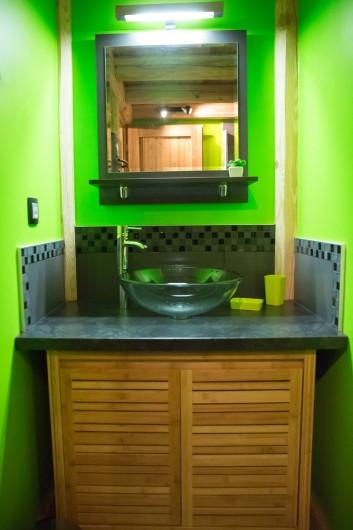Location de vacances - Appartement à Champagny-en-Vanoise - Salle de bain
