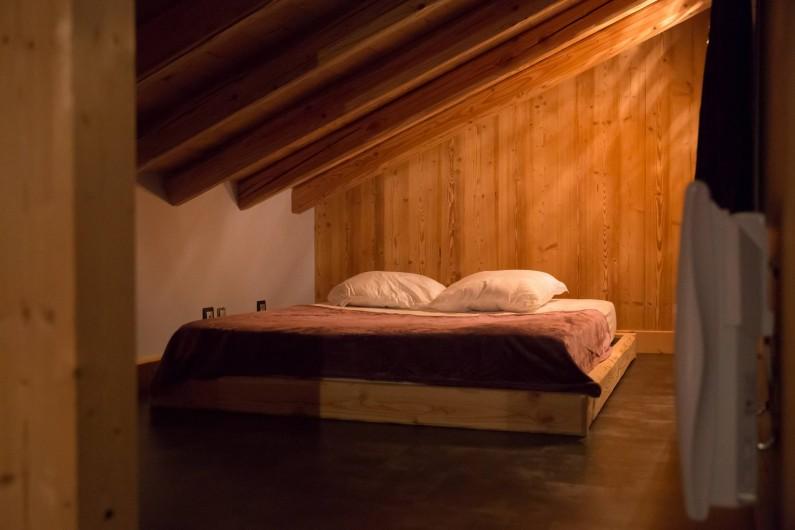 Location de vacances - Appartement à Champagny-en-Vanoise - Chambre mezzanine