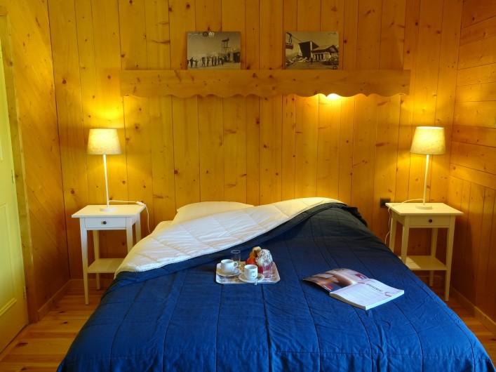 Location de vacances - Appartement à Saint-Lary-Soulan - chambre parentale