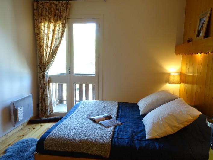 Location de vacances - Appartement à Saint-Lary-Soulan - chambre 3 et son balcon