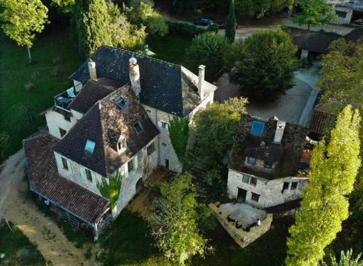 Location de vacances - Maison - Villa à Payrac - La maison principale du Colombié (lieu de rencontre)