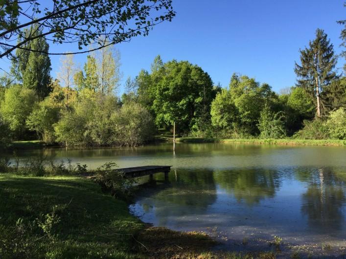 Location de vacances - Maison - Villa à Payrac - L'étang du Colombié (à 100 m de al maison OWI)