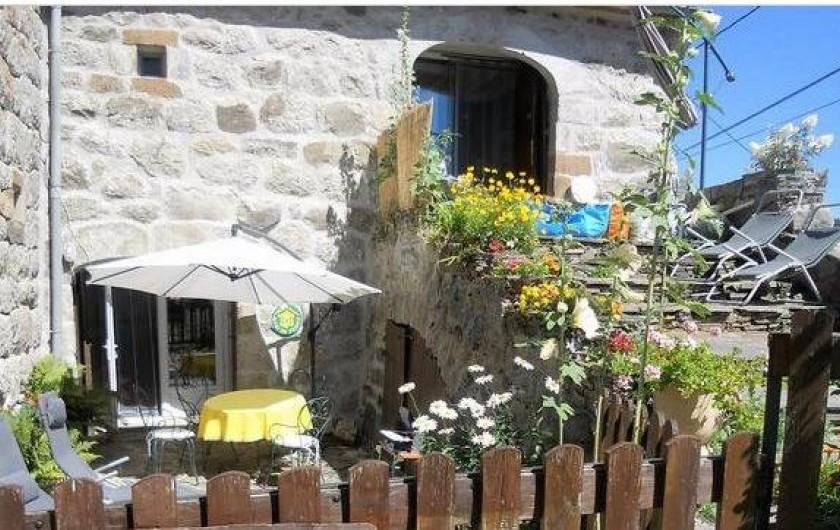 Location de vacances - Gîte à Mas-d'Orcières - La maison typique classée au Patrimoine