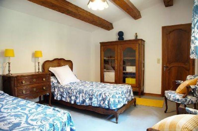 Location de vacances - Mas à Paradou - Chambre 4 avec 2 lits simple