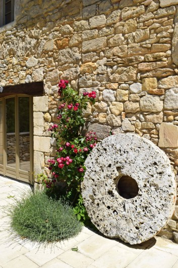 Location de vacances - Mas à Foissac - Un vestige du moulin