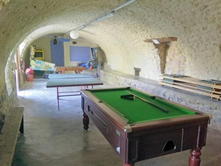 Location de vacances - Gîte à Montréal - salle de jeux