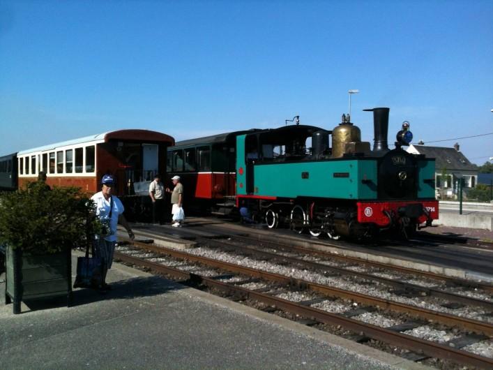 Location de vacances - Gîte à Ponthoile - le petit train touristique