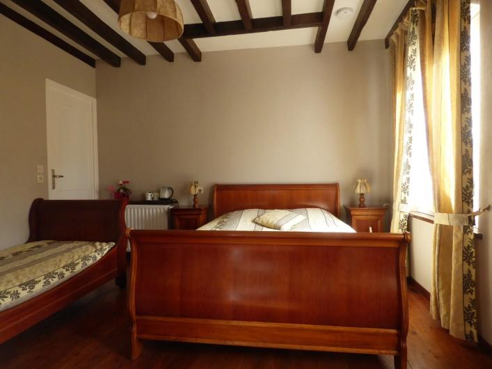 Location de vacances - Chambre d'hôtes à Les Loges - Chambre d'Antan