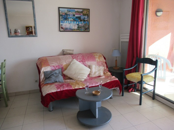 Location de vacances - Appartement à Gassin - Salon