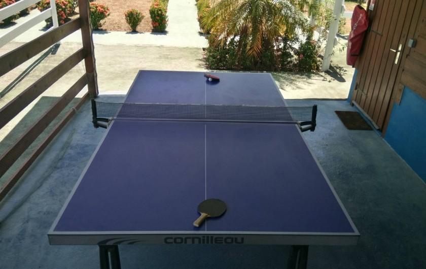 Location de vacances - Appartement à Sainte-Anne - Tennis de table
