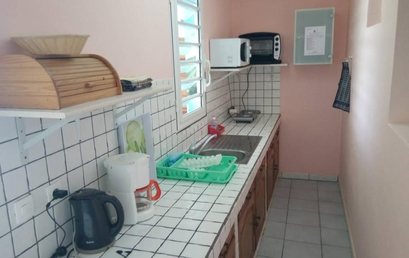 Location de vacances - Appartement à Sainte-Anne - Coin cuisine