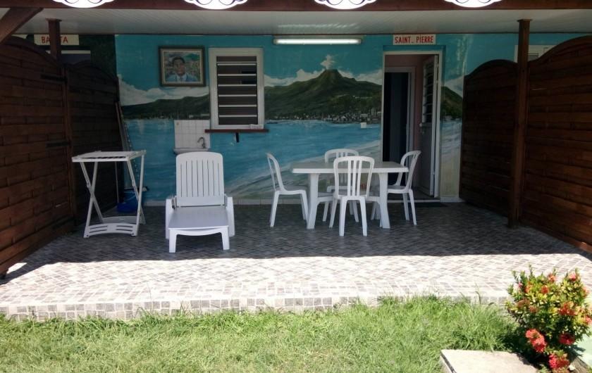 Location de vacances - Appartement à Sainte-Anne - Terrasse