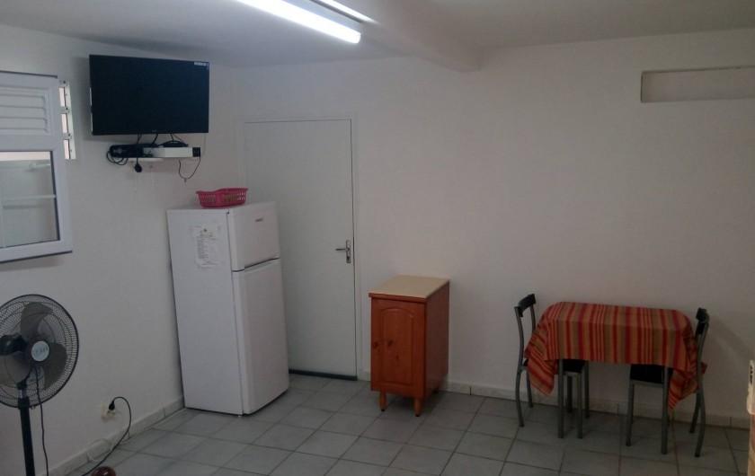 Location de vacances - Appartement à Sainte-Anne - Salon + séjour