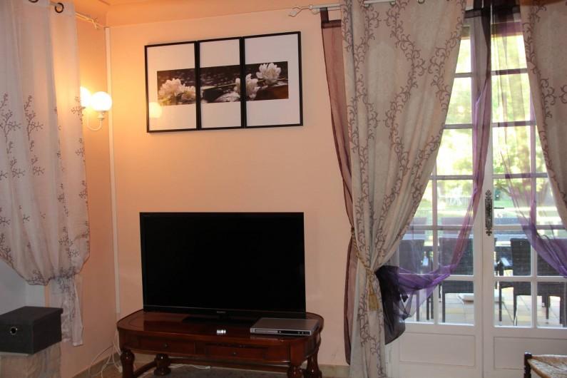 Location de vacances - Villa à Mazan - coin salon