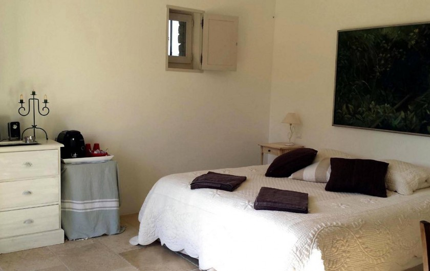 Location de vacances - Chambre d'hôtes à Gordes - Chambre Jade