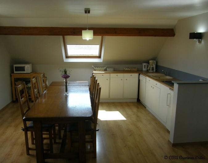 Location de vacances - Chambre d'hôtes à Vecquemont - CASA: Salle des petits déjeuners